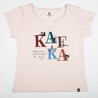 Can Dükkan T-Shirt Kadın L Kafka (Yazı)