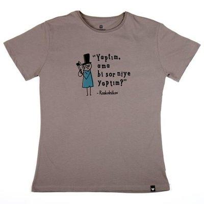 Can Dükkan T-Shirt Erkek L Raskolnikov (Suç ve Ceza)