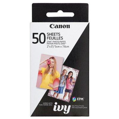 Canon Zink Paper Zp-2030 50 Sheets Exp Hb