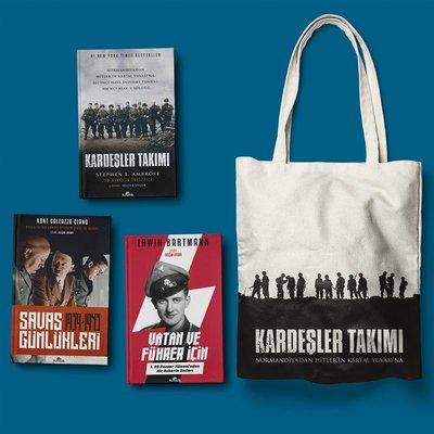 İkinci Dünya Savaşı Seti-3 Kitap Takım-Bez Çanta Hediyeli