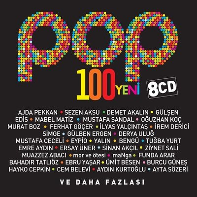 Pop 100 Yeni 8'Li CD