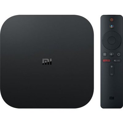 Xiaomi Mi Box S 4K Android TV Media Player HDR – Dolby DTS, Siyah