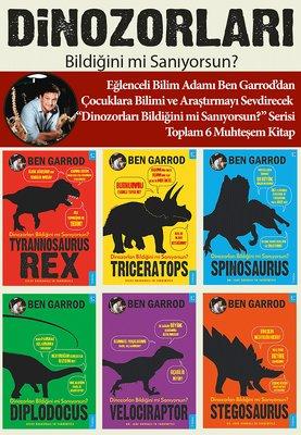 Dinozorları Bildiğini mi Sanıyorsun?-6 Kitap Takım