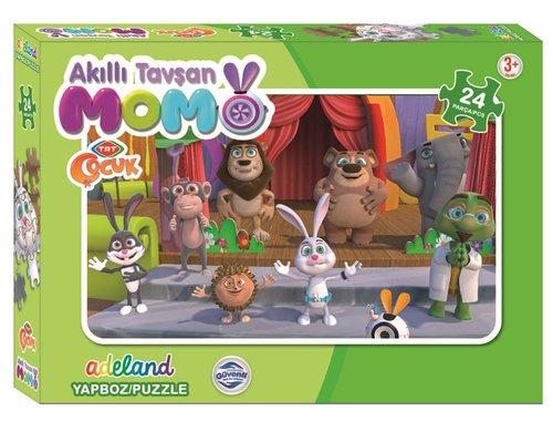 Tavşan Momo 24 Parça Puzzle 12690