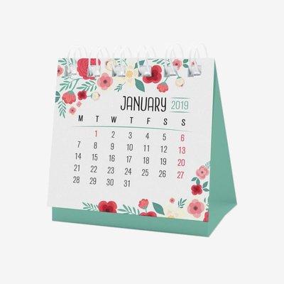 Legami Takvim Mikro 2019 Çiçek