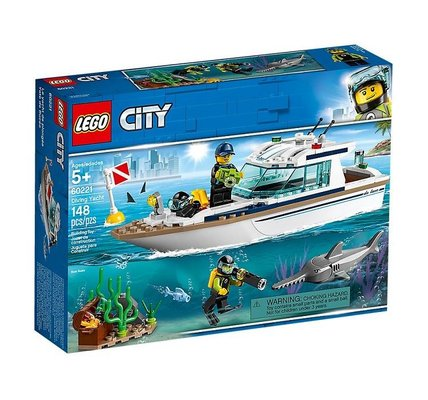 Lego City Dalış Yatı 60221