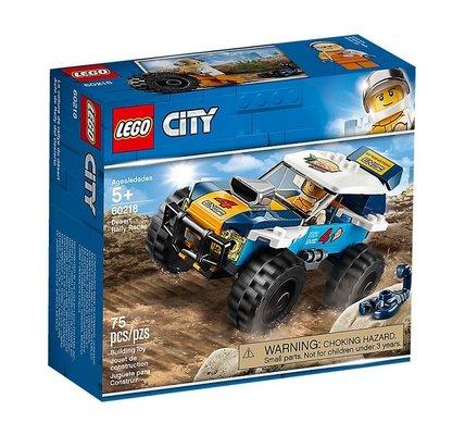 Lego City Çöl Rallisi Yarış Arabası 60218