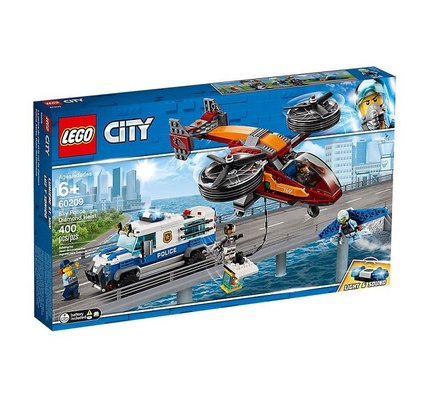 Lego City Gökyüzü Polisi Elmas Soygunu 60209