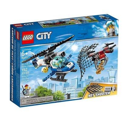 Lego City Gökyüzü Polisi İnsansız Hava Aracı Takibi 60207