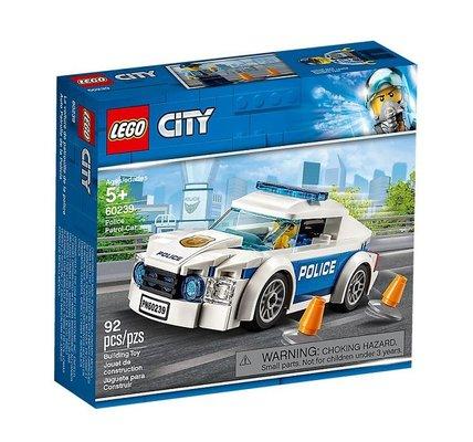 LEGO 60239 City Polis Devriye Arabası Yapım Seti