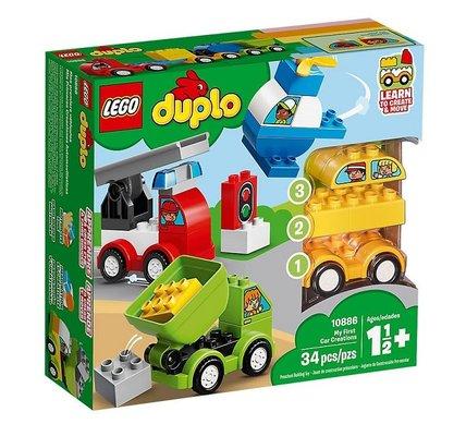 Lego Duplo İlk Araba Tasarımlarım 10886