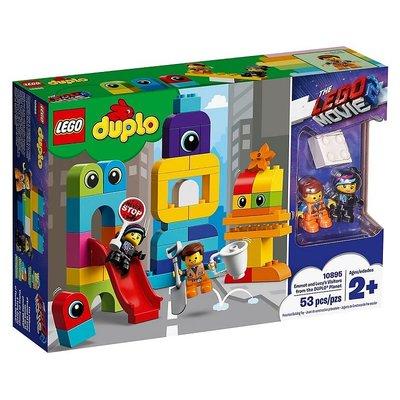 Lego Duplo Emmet ve Lucy'nin DUPLO® Gezegeninden Ziyaretçileri 10895