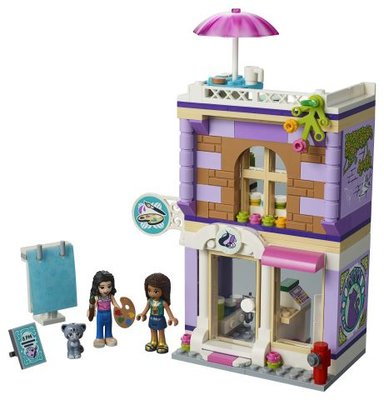 Lego FriendsEmma'nın Resim Atölyesi 41365