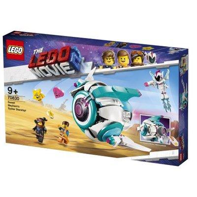 Lego Movie 2 Tatlı Kargaşa'nın Systar Uzay Gemisi 70830