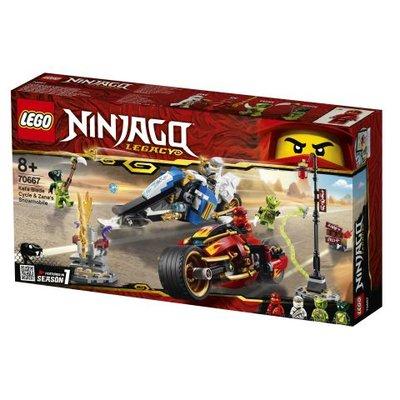 Lego Ninjago Kai'nin Kılıç Motosikleti ve Zane'in Kar Motosikleti (70667)