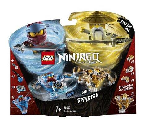 Lego Ninjago Spinjitzu Nya ve Wu (70663)