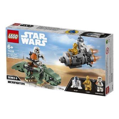 Lego Star Wars Kaçış Kapsülü, Dewback Mikro Savaşçılara Karşı 75228