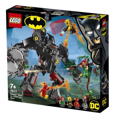 Lego DC Batman: Batman Robotu, Poison Ivy Robotuna karşı 76117