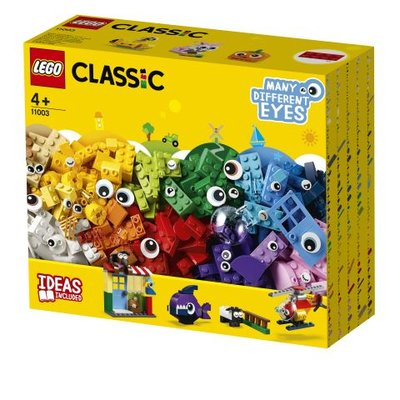 Lego Classic Yapım Parçaları ve Gözler (11003)