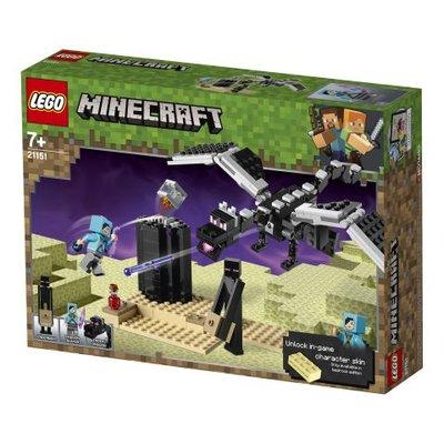 Lego Minecraft End Savaşı (21151)