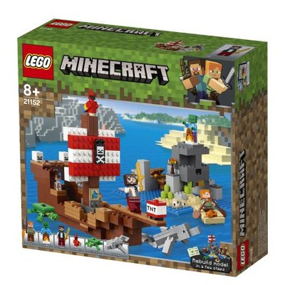 Lego Minecraft Korsan Gemisi Macerası (21152)