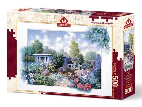 Art Puzzle Çiçekli Bahçe 500 Parça 4211