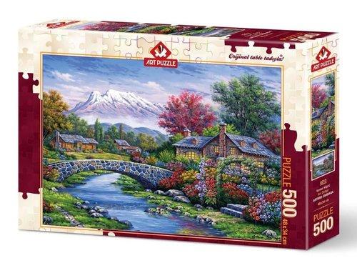 Art Puzzle 500 Kemer Köprü 4213