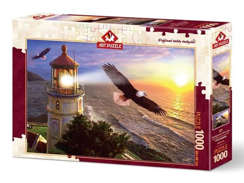Art Puzzle Gündoğumunda Yüksek Uçuş 1000 Parça 4221