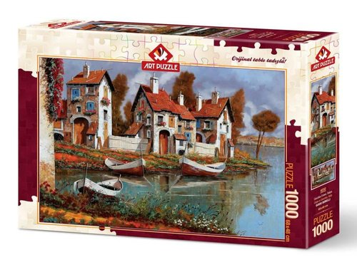 Art Puzzle Cerchıo Evleri İtalya 1000 Parça