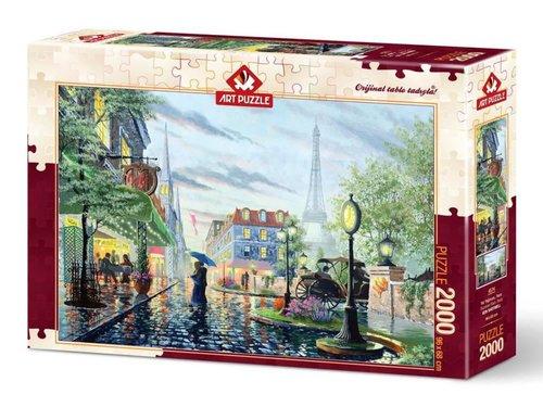 Art Puzzle 4574 Yaz Yağmuru Paris 2000 Parça Puzzle