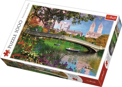Trefl Puzzle Central Park, New York 1000 Parça Puzzle 10467
