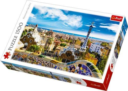 Trefl Puzzle Park Güell Barcelona 1500 Parça Puzzle26147