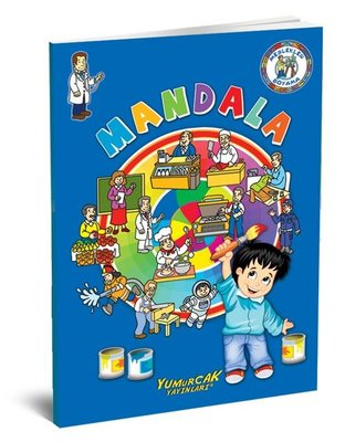 Meslekler Mandala Boyama