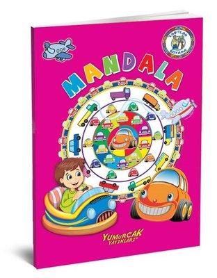 Mandala Boyama Seti-4 Kitap Takım