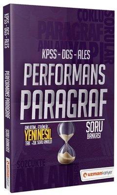 KPSS DGS ALES Performans Paragraf Soru Bankası