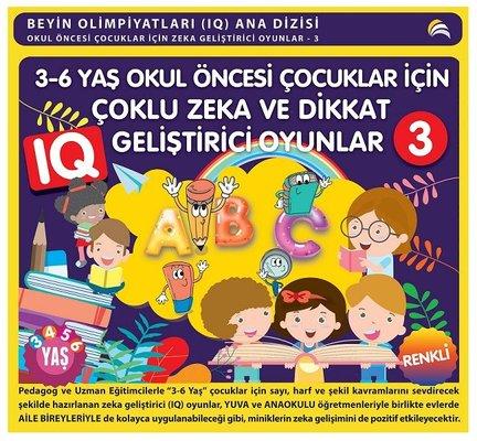 3-6 Yaş Okul Öncesi Çocuklar için Çoklu Zeka ve Dikkat Geliştirici Oyunlar-3