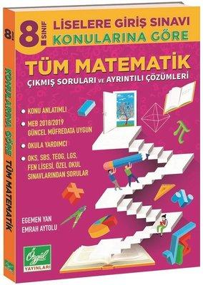 8.Sınıf Konularına Göre Tüm Matematik Çıkmış Soruları ve Ayrıntılı Çözümleri