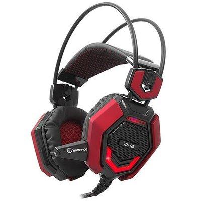 Rampage SN-R5 X-CORE Oyuncu Mikrofonlu Kulaklık Siyah/kırmızı