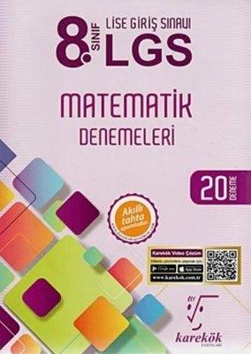 8.Sınıf LGS Matematik Denemeleri 20 Deneme