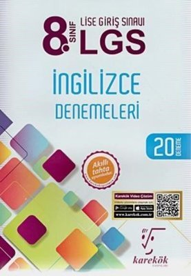 8.Sınıf LGS İngilizce Denemeleri 20 Deneme