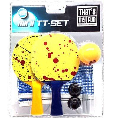 Mini TT Set (2 mini raket + 1 masa tenisi ağı + 1 top)