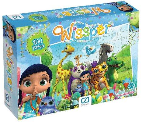 Ca Games Puzzle 100 Wissper 5067