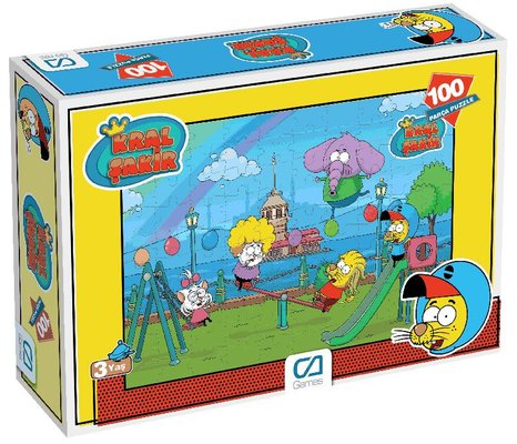 Ca Games Puzzle 100 Kral Şakir 5068