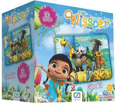Ca Games Eğitici Puzzle 24 Wissper Yer 5066
