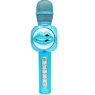 Doppler Lips200 Bluetooth Speaker Karaoke Çocuk Mikrofonu - Mavi