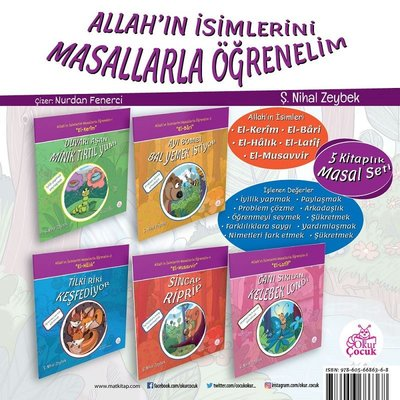 Allah'ın İsimlerini Öğrenelim-5 Kitap Takım