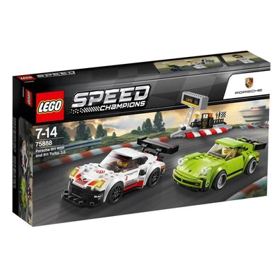 Lego-Speed Porsche 911 RSR and 911 Turbo 3.0