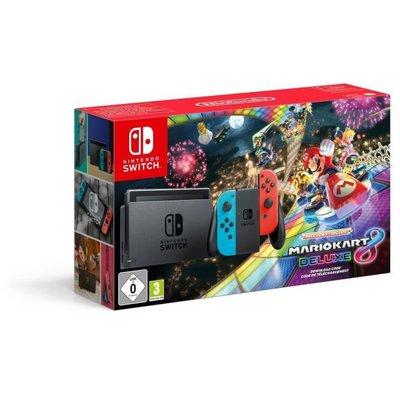 Nintendo Switch Konsol Mario Kart 8 Deluxe Bundle