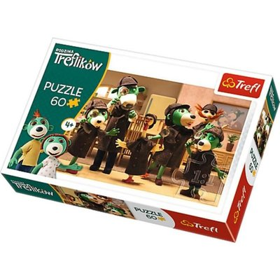 Trefl Puzzle 60 On The Trail Treflik Family 17308