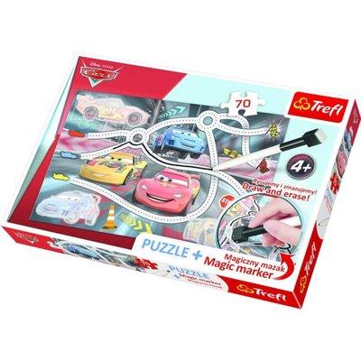 Trefl Puzzle 70 Plus Marker Cars 2 Disney 75110